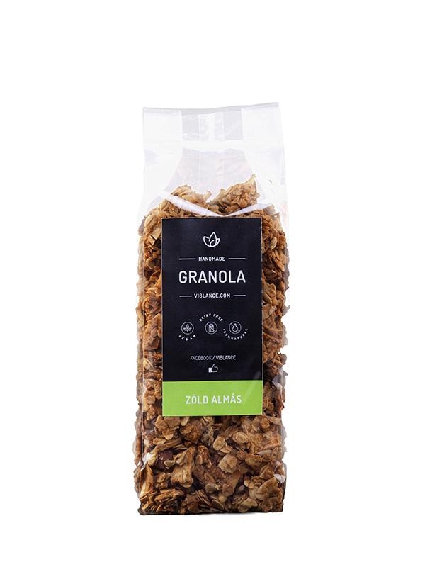 Granola - Zöld alma 500g