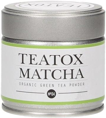 Matcha zöld teapor fém dobozban 30g
