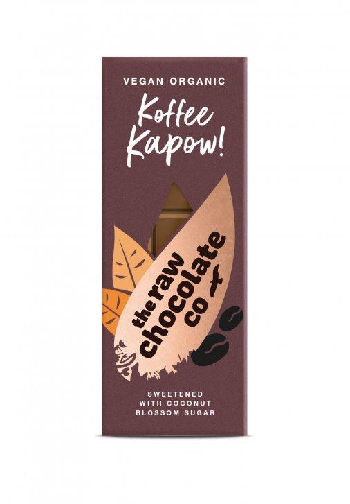 Nyers csokoládé  szelet - Kávés 38g