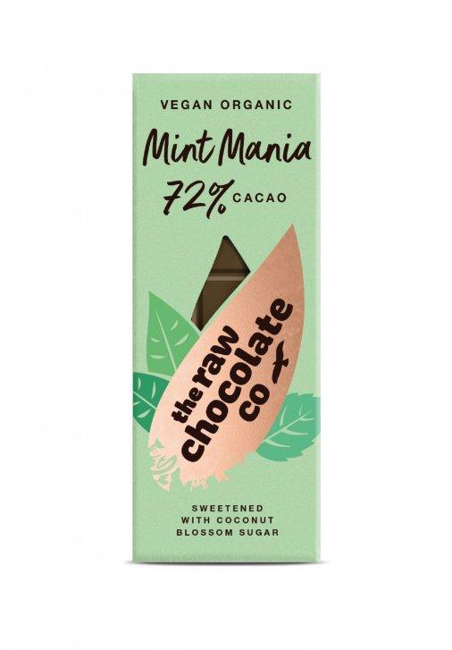 Nyers csokoládé  szelet - Mentás 38g