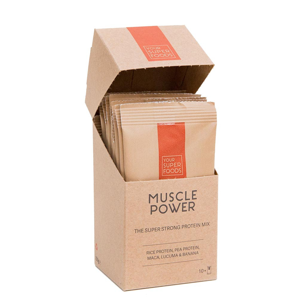 Organic Muscle Power Protein Mix 10x15g