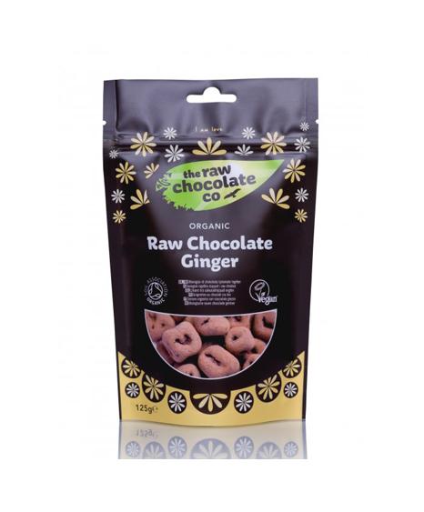 Nyers csokoládés csemege - Gyömbér 125g