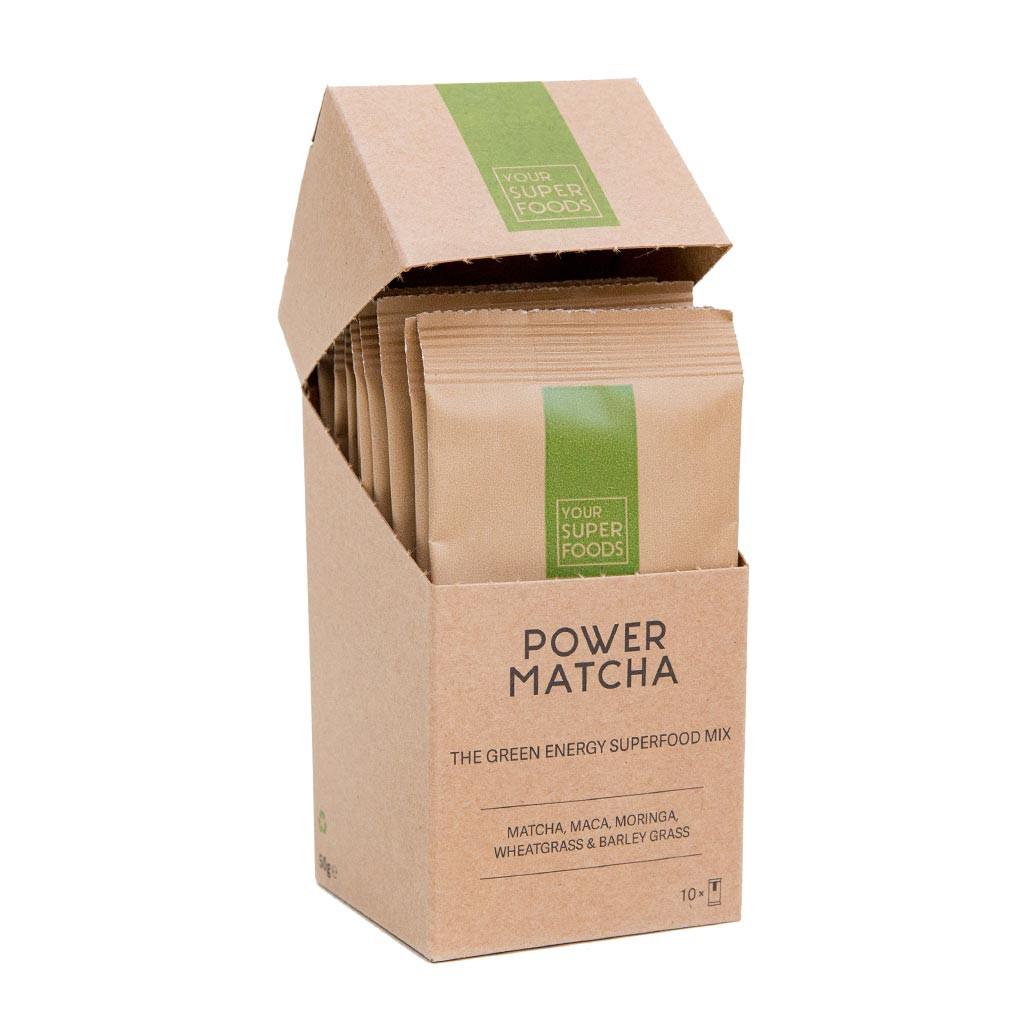 Organic Power Matcha Mix 10 x 5g