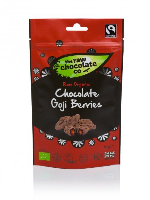 Nyers csokoládés csemege - Goji Bogyó 125g