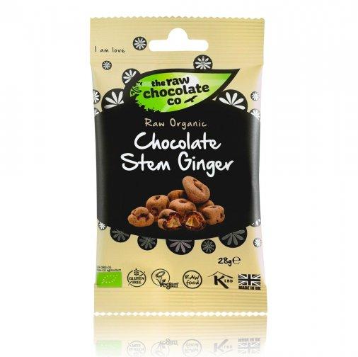 Nyers csokoládés csemege - Gyömbér 28g