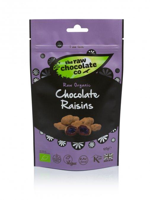 Nyers csokoládés csemege - Mazsola 125g