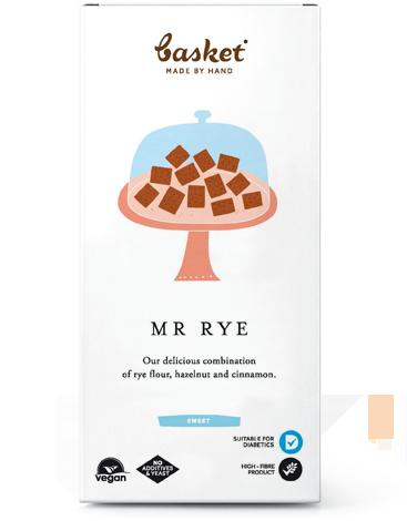 Mr Rye - fahéjas, mogyorós lapocskák 100g