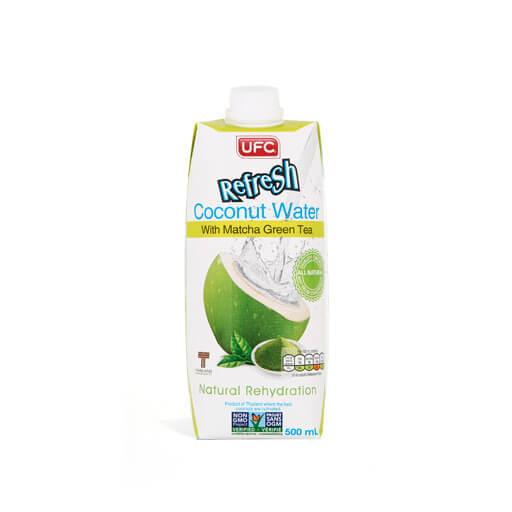 Kókuszvíz zöld matcha tea 500ml
