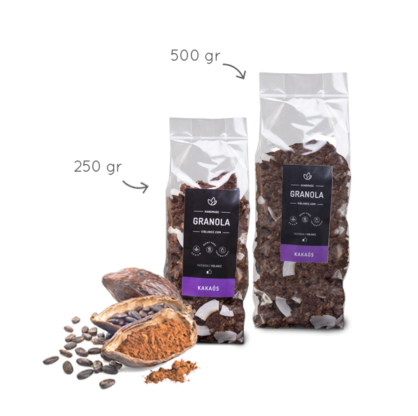 Granola - Kakaós 500g