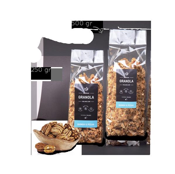 Granola - Quinoa & Pecan 500g