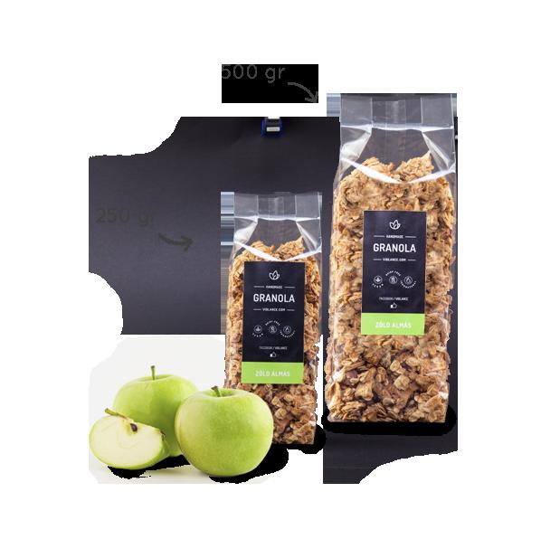 Granola - Zöld alma 250g