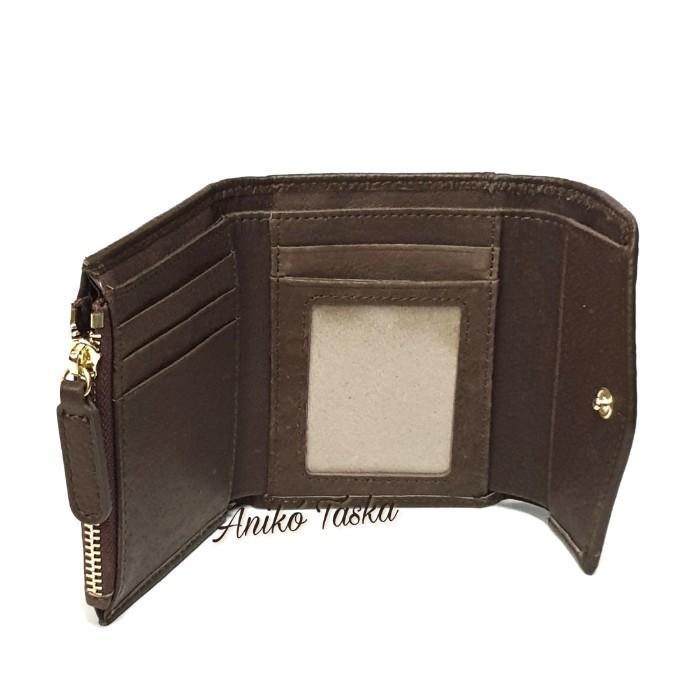 Prestige kis bőr pénztárca cipzáras aprtós húsrózsaszín