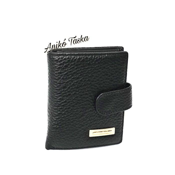 Prestige kis bőr pénztárca patentos apró tartós fukszia
