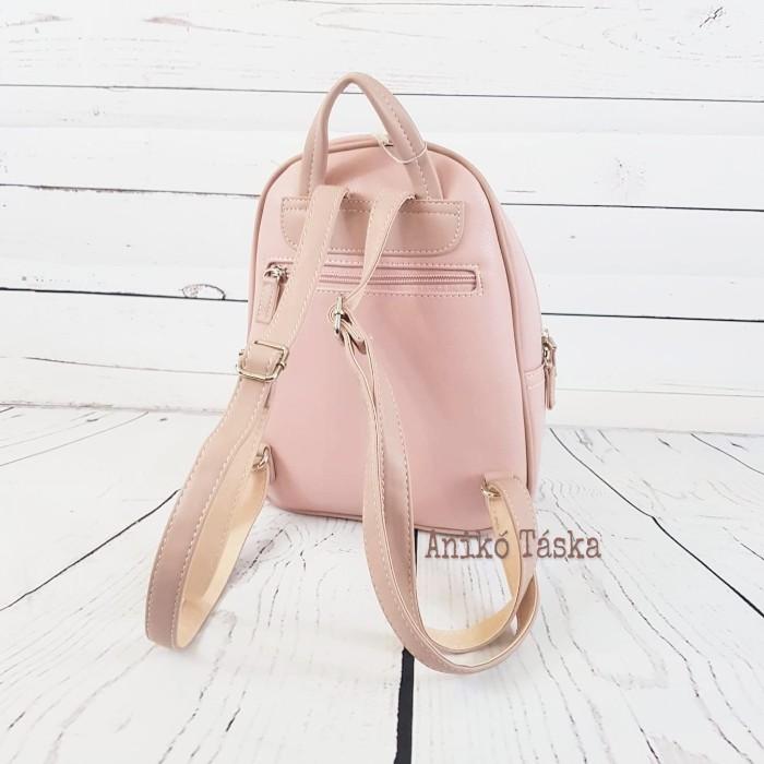 David Jones női háti táska púder rózsaszín