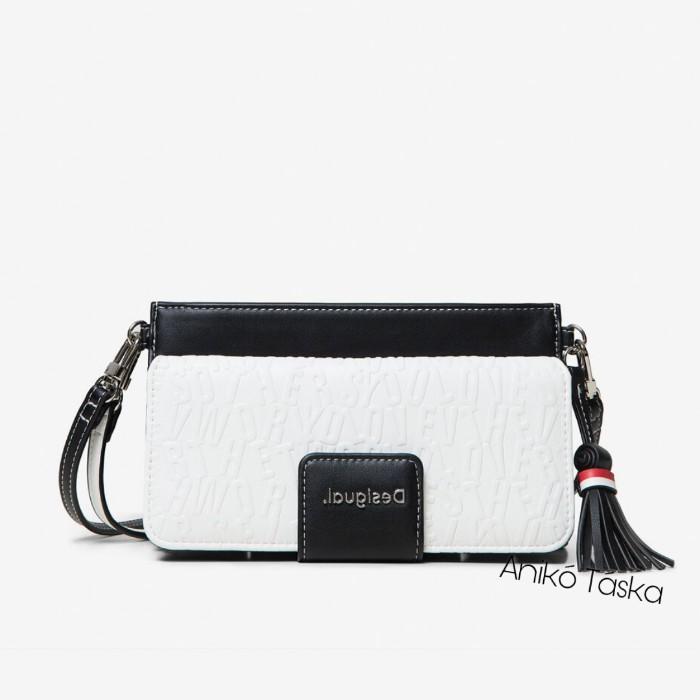 Desigual pénztárca táska egyben fehér