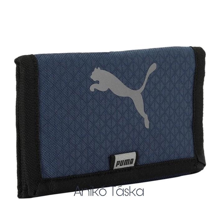 Puma pénztárca tépőzáras fényvisszaverős ugró logós farmerkék