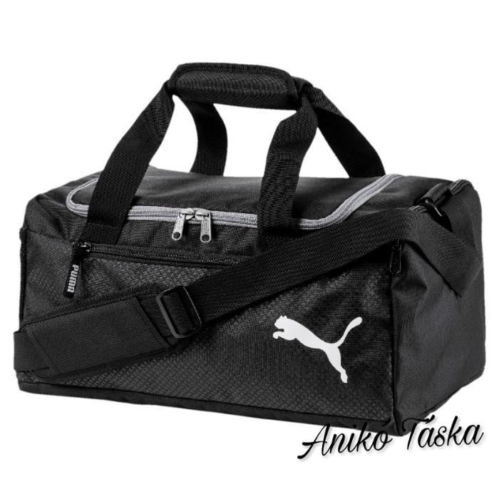 Puma XS egyszerű sporttáska fekete szürke