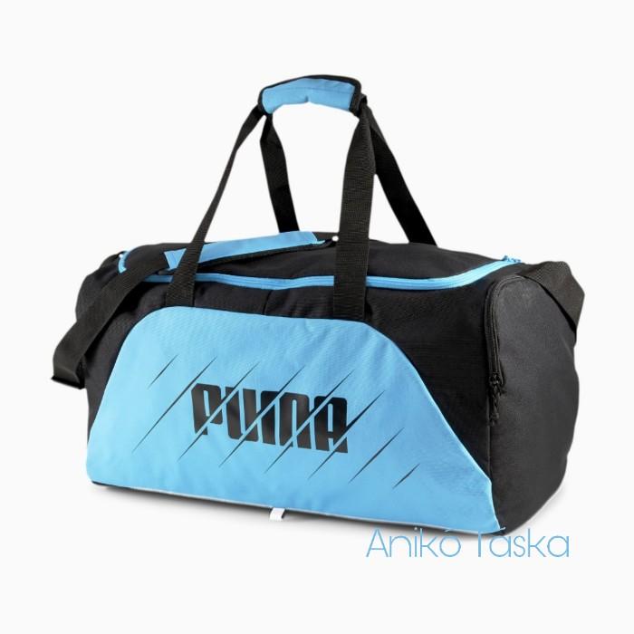 Puma közepes sport táska szett világító kék