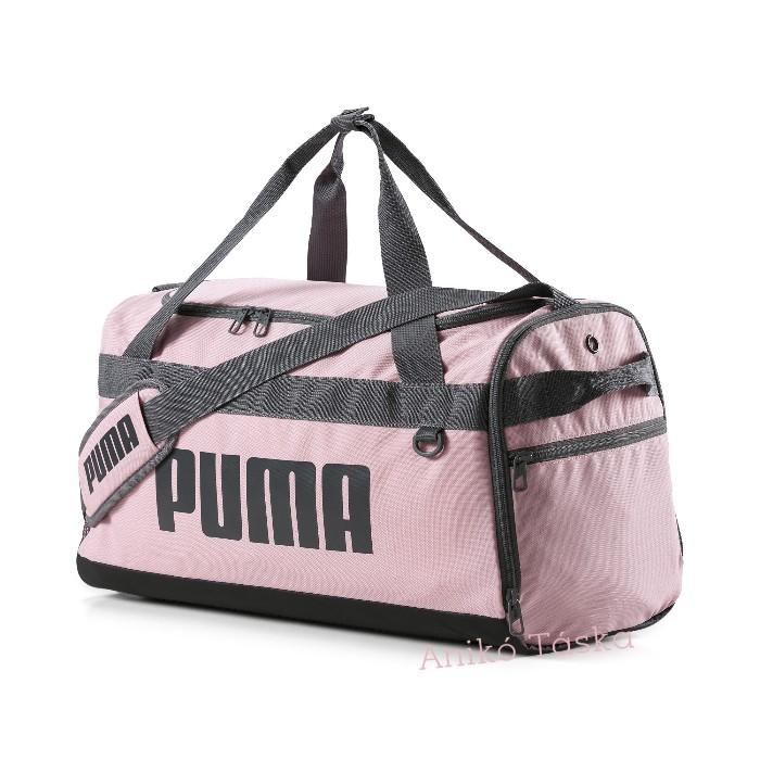 Puma XS egyszerű sporttáska hevederes rózsaszín
