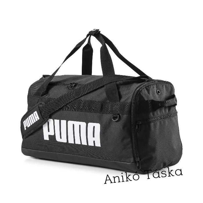 Puma kis egyszerű sporttáska hevederes fekete