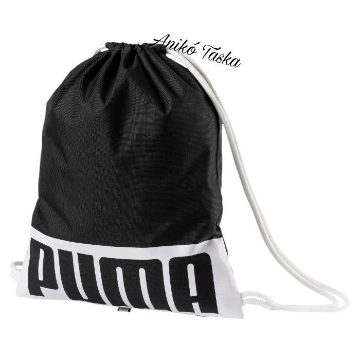 Puma tornazsák fekete-fehér