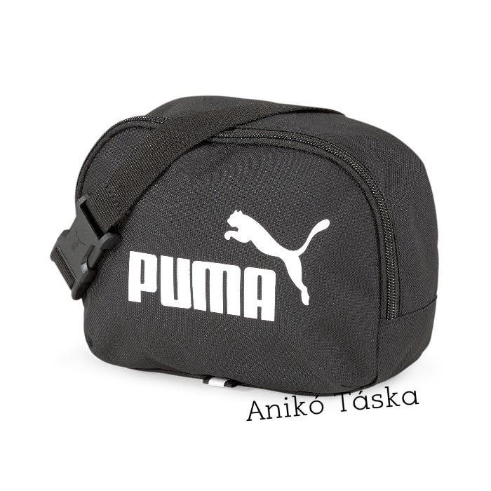 Puma övtáska kicsi könnyű fekete