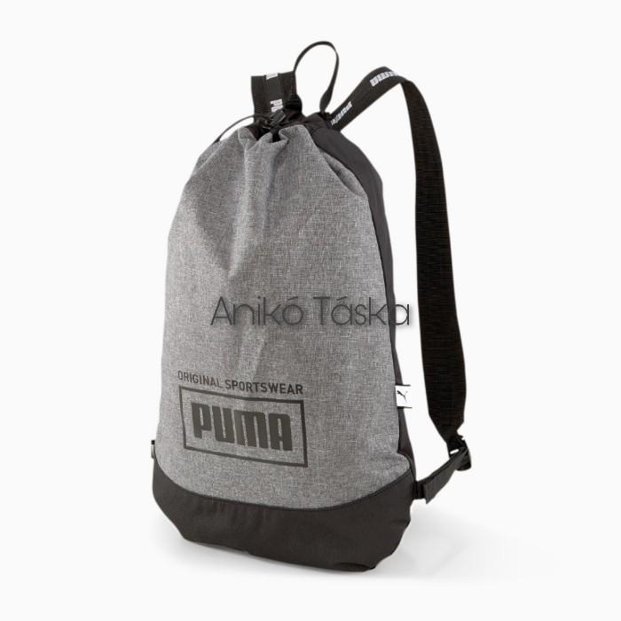 Puma keskeny hátizsák vastag vállpánttal szürke