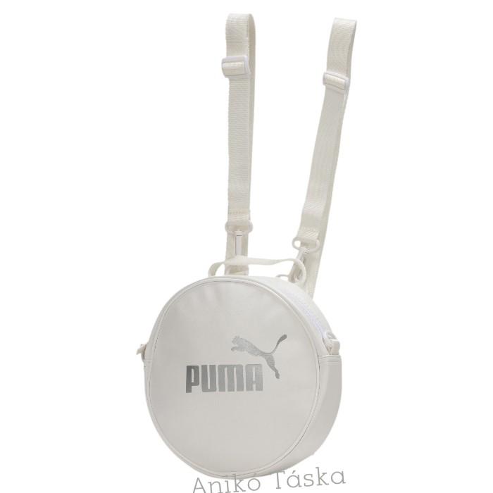 Puma kör alakú női hátizsák felhő fehér