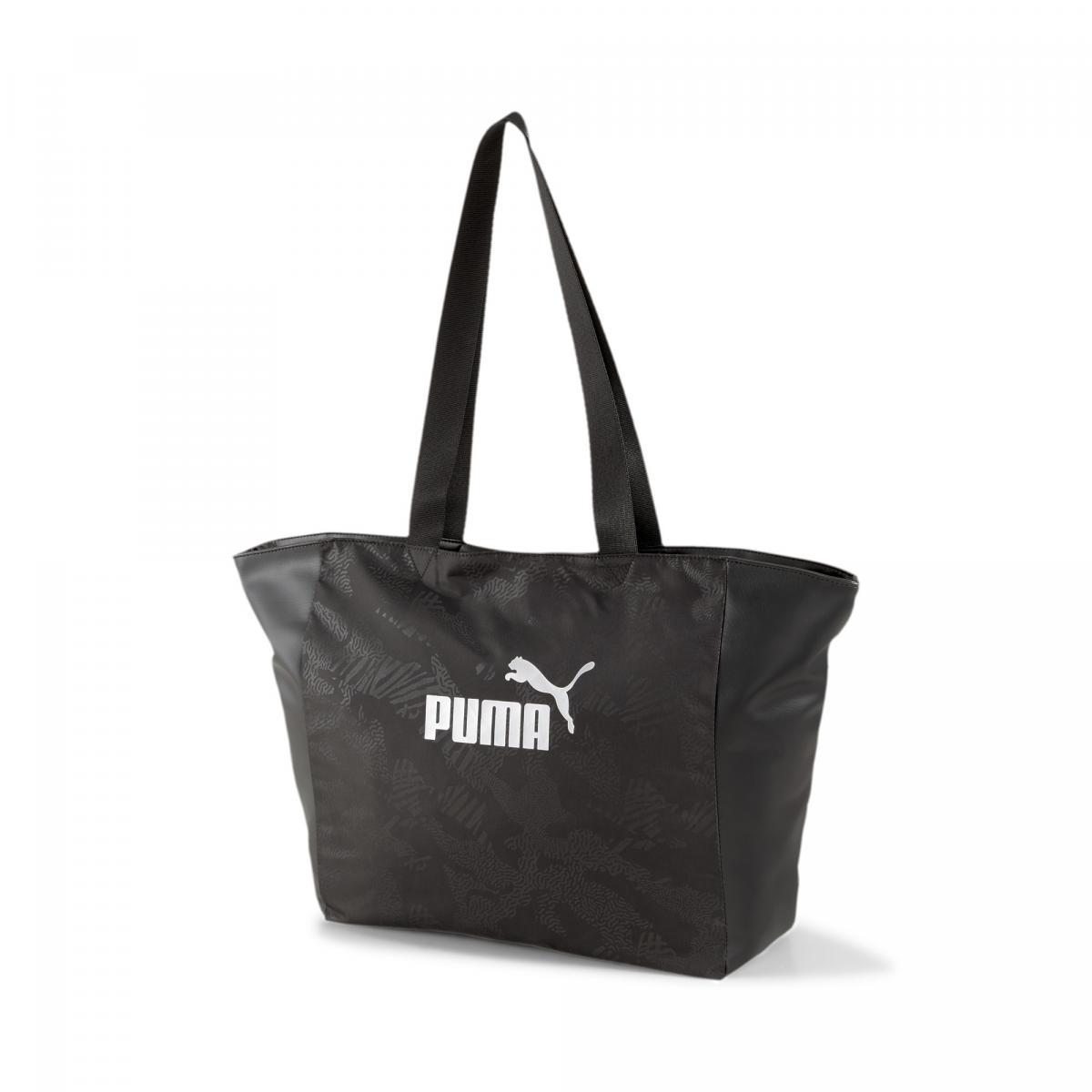 Puma shopper fazonú nagy női táska fekete