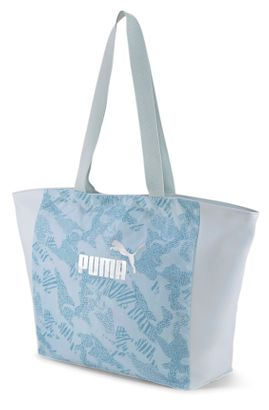 Puma shopper fazonú nagy női táska könnyed kék