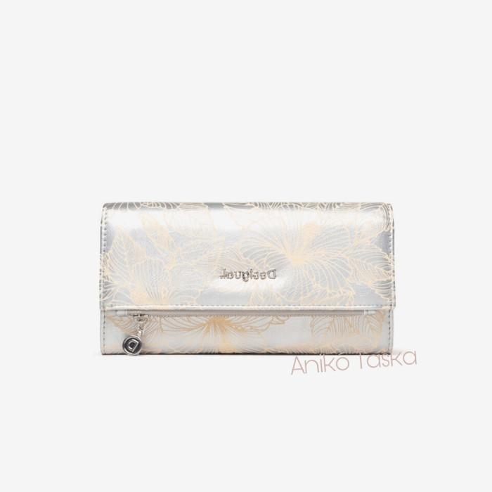 Desigual fedeles pénztárca női brifkó ezüst