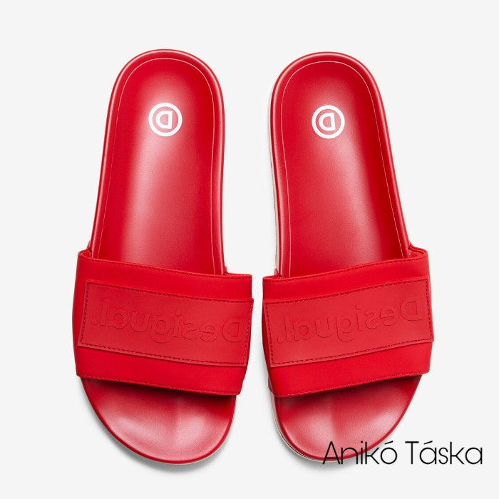 Desigual női papucs piros 39
