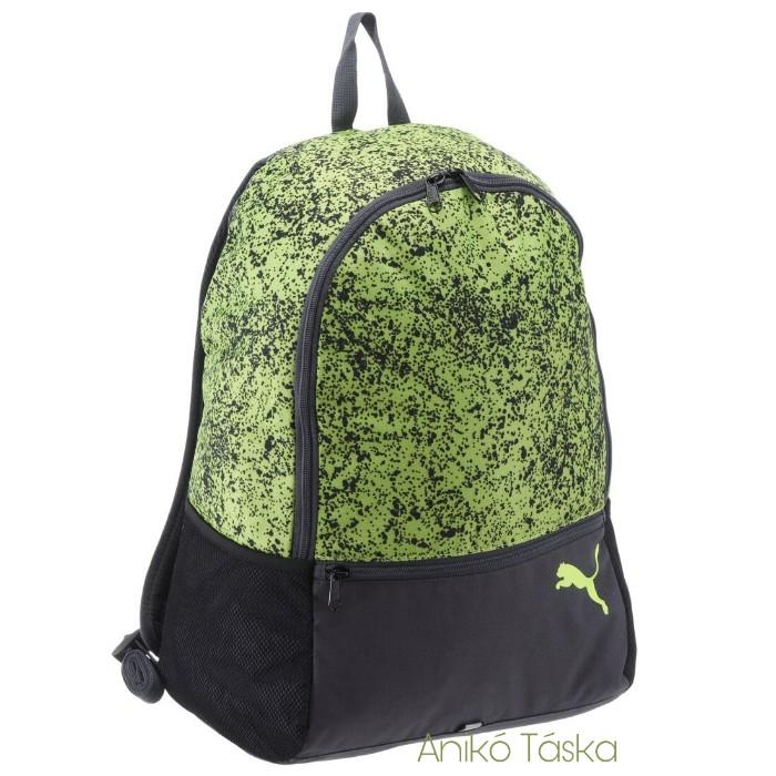 Puma egyszerű hátizsák alpha neon zöld