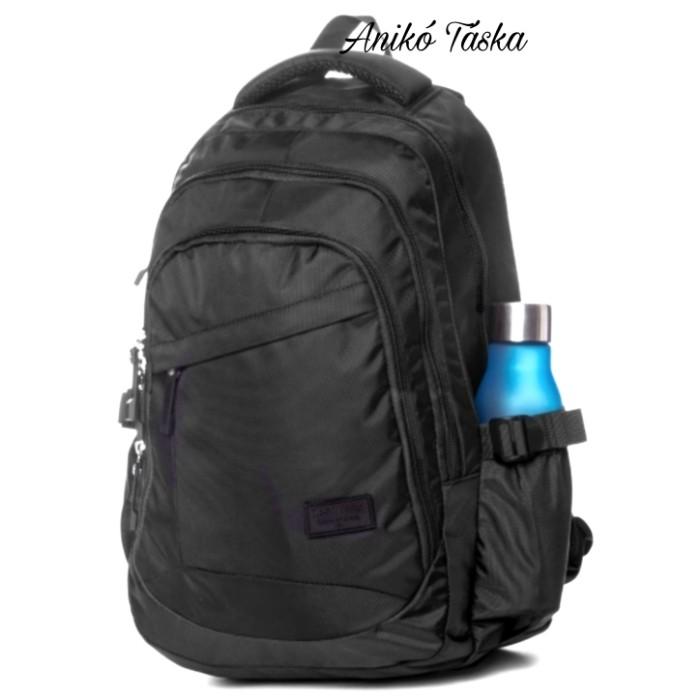 HeavyTools laptoptarós hátizsák Etrovo fekete