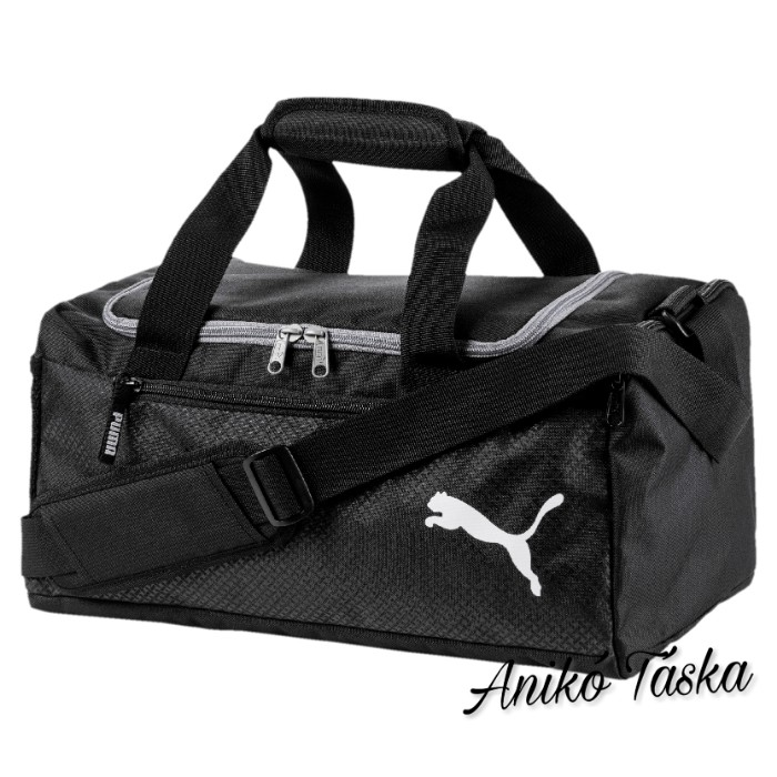 Puma közepes sporttáska fekete szürke