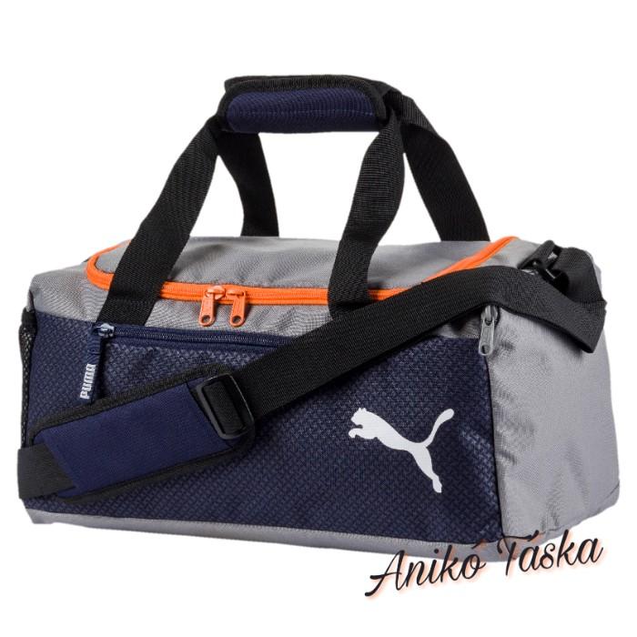 Puma közepes méretű sporttáska kék szürke