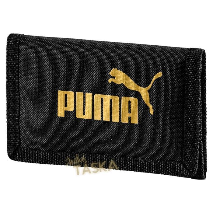 Puma pénztárca tépőzáras fekete