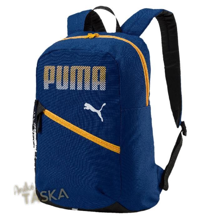 Puma egyszerű hátizsák kék sárga
