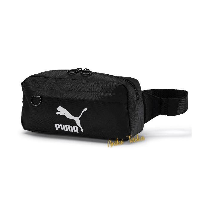 Puma könnyű övtáska belső cipzárral fekete