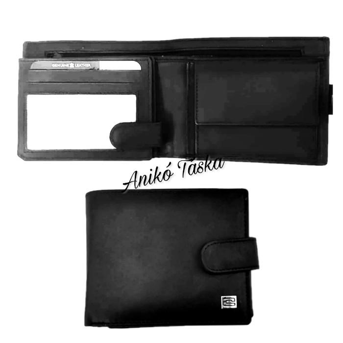 Kadro lapozós kártyatartós bőr férfi pénztárca fekete