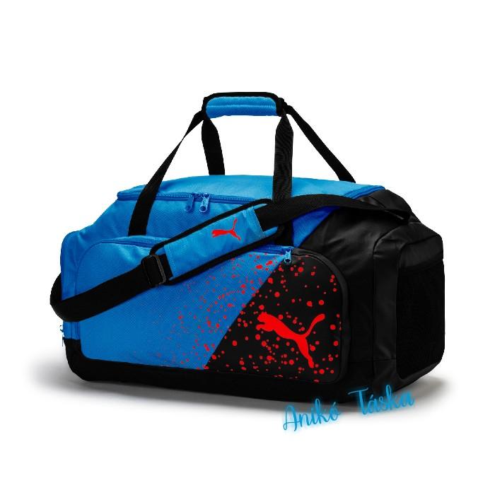 Puma sport táska azúrkék szett
