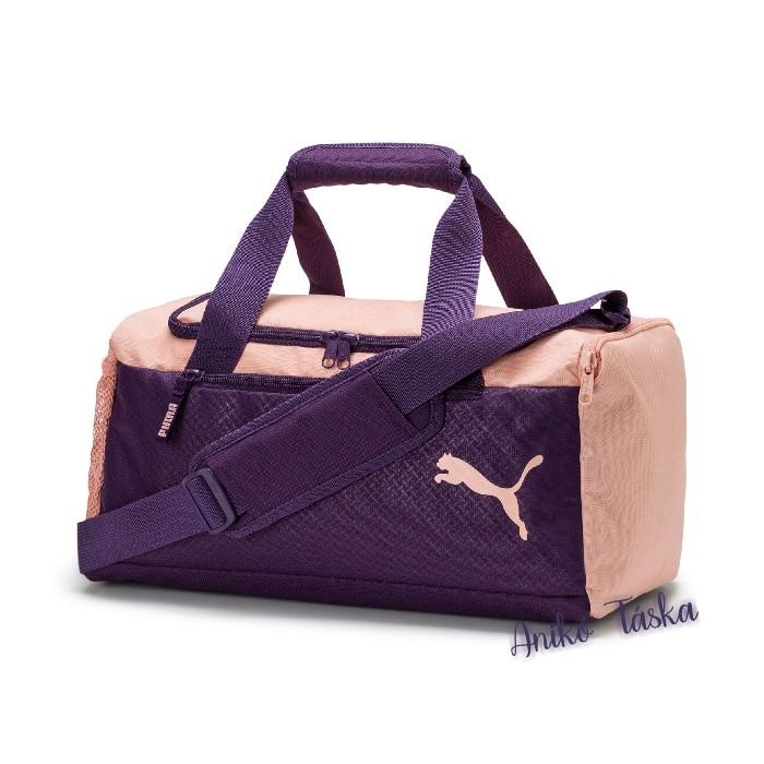 Puma XS egyszerű sporttáska indigólila