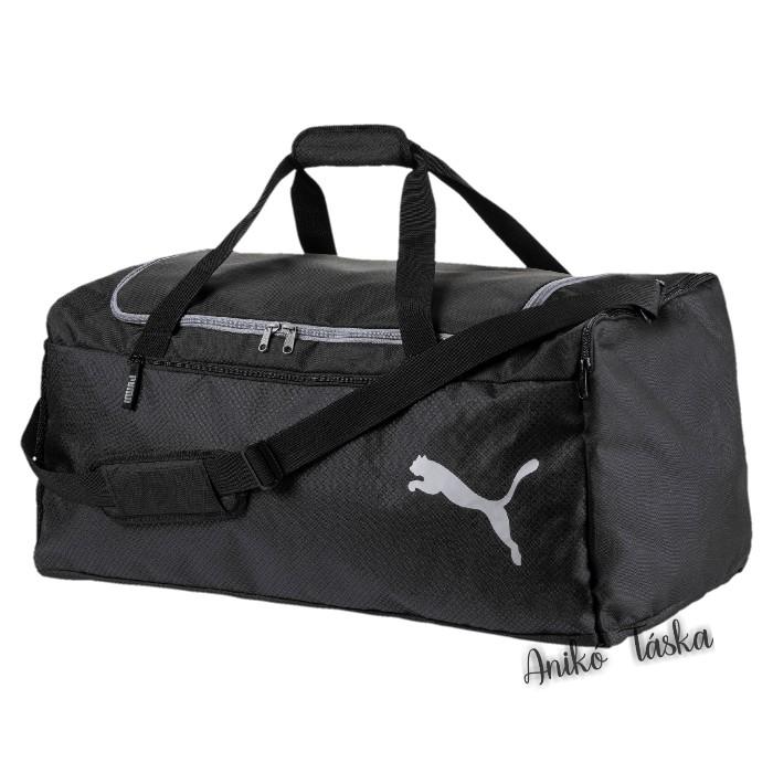 Puma nagy méretű sporttáska fekete