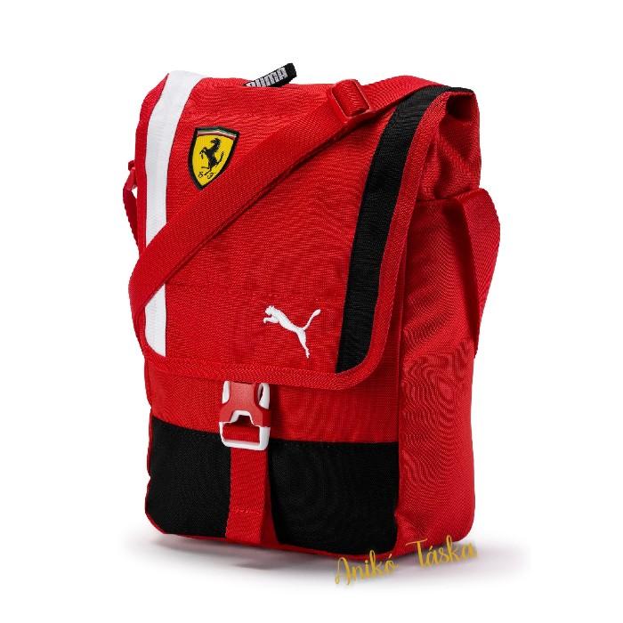 Ferrari piros válltáska fedeles Puma 19