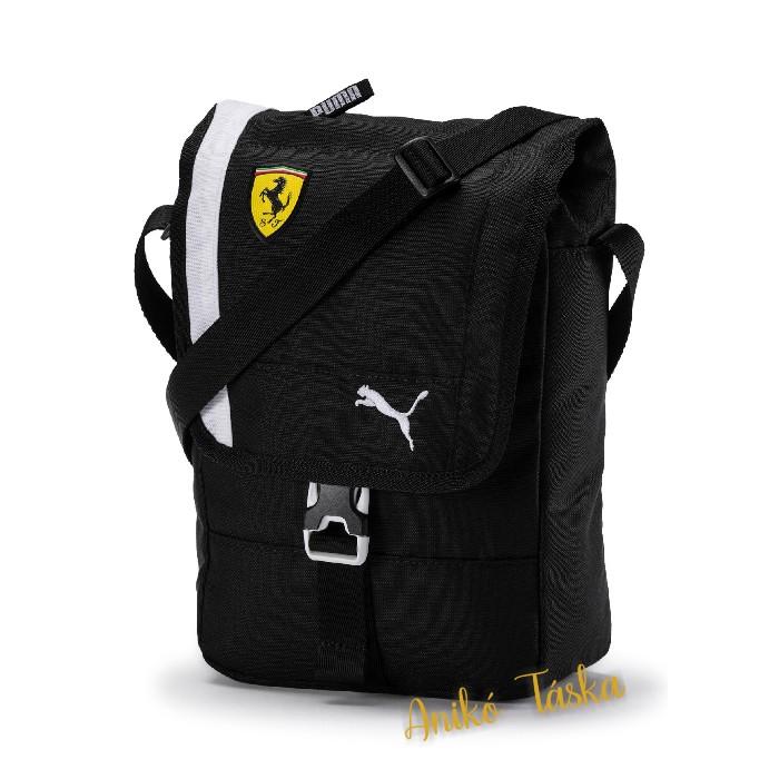 Ferrari fekete válltáska fedeles Puma 19