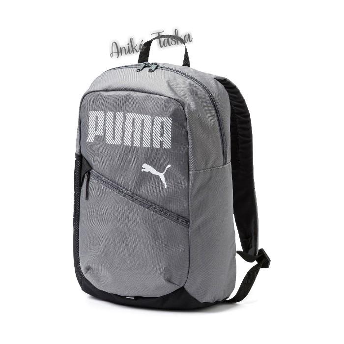 Puma egyszerű hátizsák acélszürke