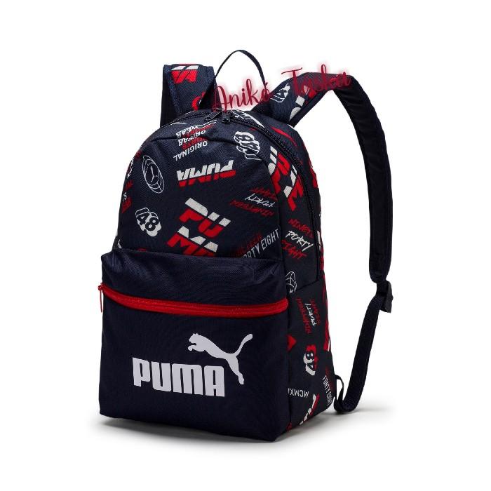 Gyerek háti táska sötétkék Puma