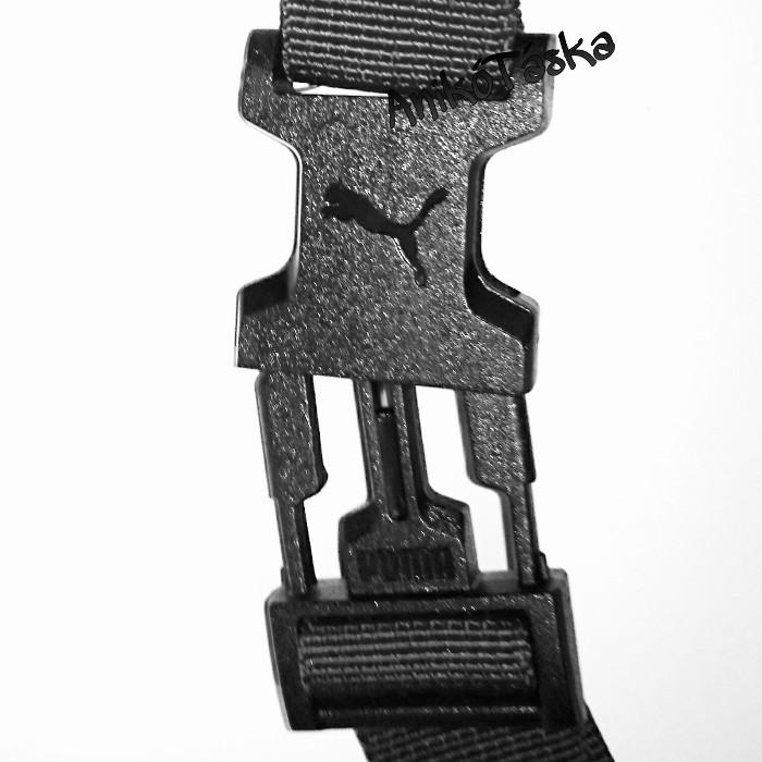 Puma övtáska 3D mintával fekete