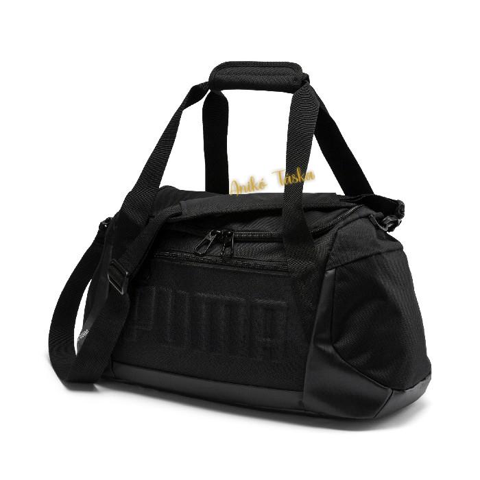 Puma kis sporttáska domború mintával fekete