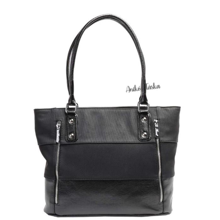 Karen rostbőr táska kedvelt fazon fekete